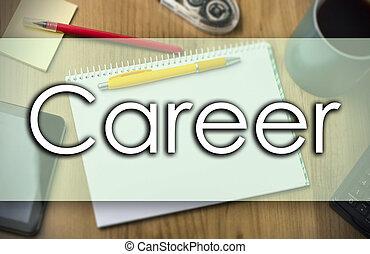 business, texte, -, carrière, concept