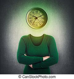 business time metaphor