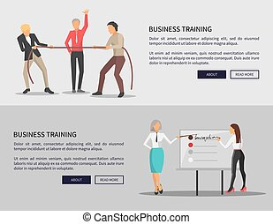 Business Training Web Posters Competition Issues