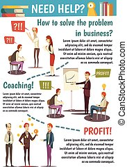 Business Trainings And Coaching Flowchart - Business...