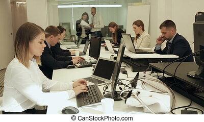 business, travail, gens, pendant, quotidiennement