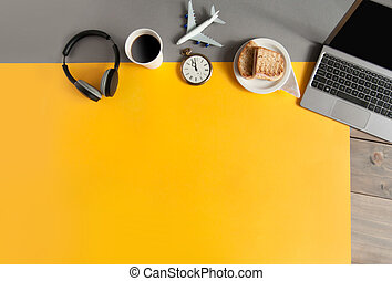 Business travel background