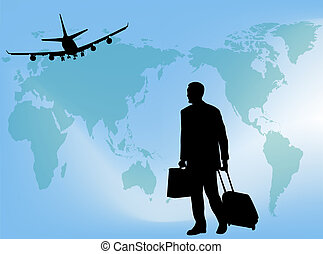 Business Travel Stock Illustration Images 216206