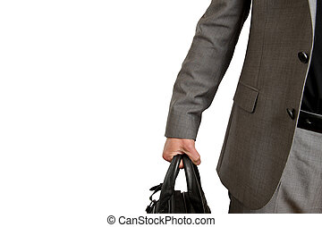 Business travel - Businessman on his way