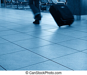 Business travel abstract