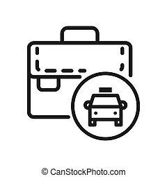 business travel vector illustration