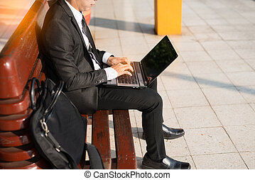 business travel,working on computer laptop online