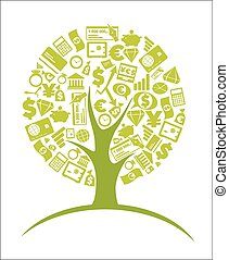 Business tree - economic growth