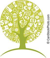 Business tree - economic growth