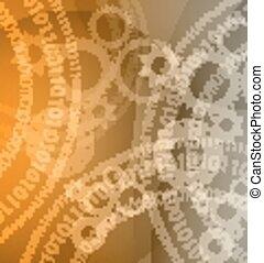 business, variété, élevé, application, technologie, fond