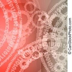 business, variété, application., technologie de pointe, fond