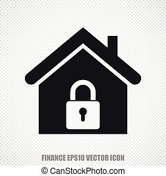 Business vector Home icon. Modern flat design.