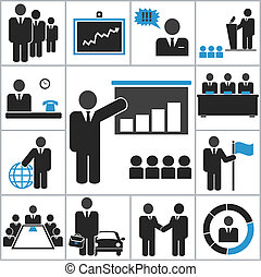 Business. Vector icons for you design