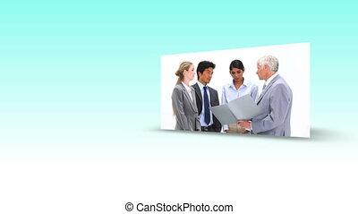business, vidéos, succession