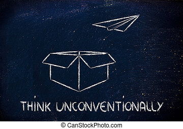 business, vision:, penser, unconventionally