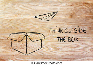 business vision: think outside the box