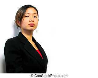 Business Woman - asian business woman