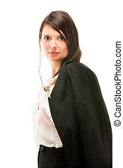 Business woman portrait.