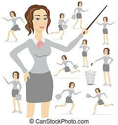 Business Woman vector business