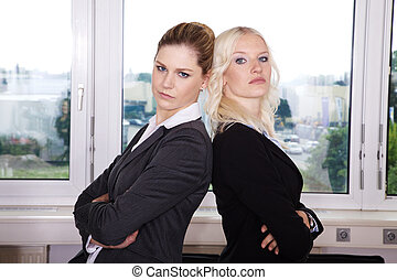 business women are disappointed