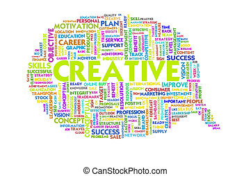 Business word inside speech bubble, business concept