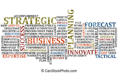 Business Words Collage 2