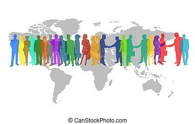 business world - global business