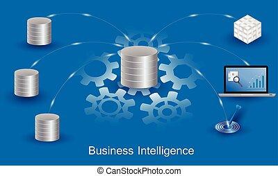 BusinessIntelligenceConcept - Business Intelligence concept....