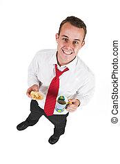 Businessman #34 - Business man taking a break