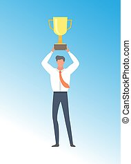 Businessman Achieving Business Excellence, Prize