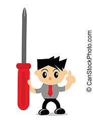 businessman activity