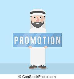 businessman arabian promotion
