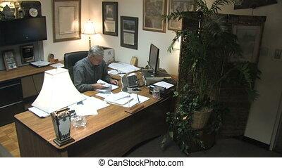 Businessman at Desk 2