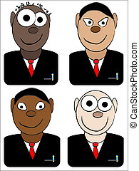 businessman avatars