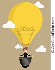 Businessman Balloon Ideas