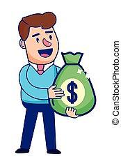 Businessman banking financial planning