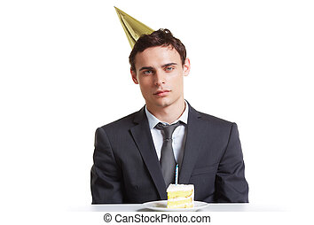 Businessman birthday