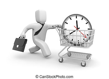 Businessman bought time