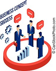 Businessman Business partnership
