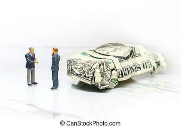 Businessman Car Salesman