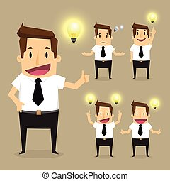 Businessman character.vector