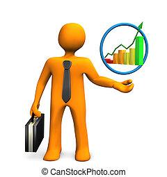 Businessman Chart
