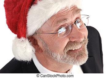 Businessman Christmas