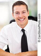 businessman close up