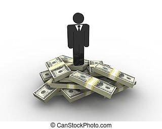 Businessman concept