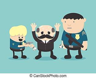 businessman corruption arrested