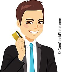 Businessman Credit Card