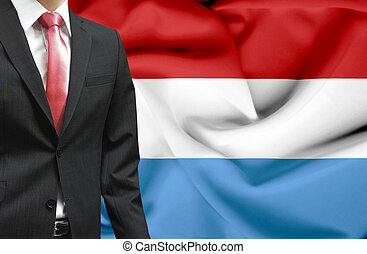 Businessman from Luxembourg conceptual image