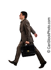 Businessman go to work