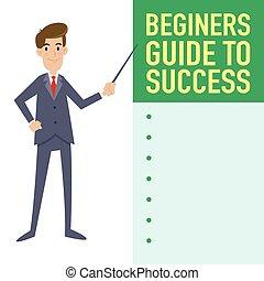 Businessman Guide To Success